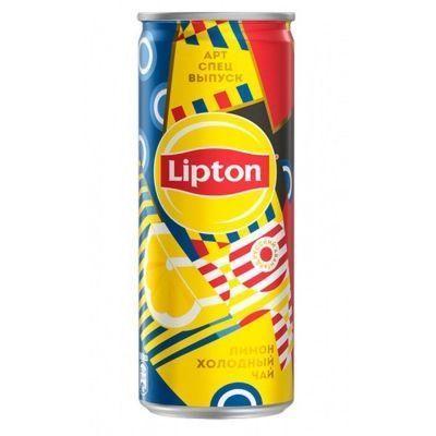 Чай холодный Липтон Лимон