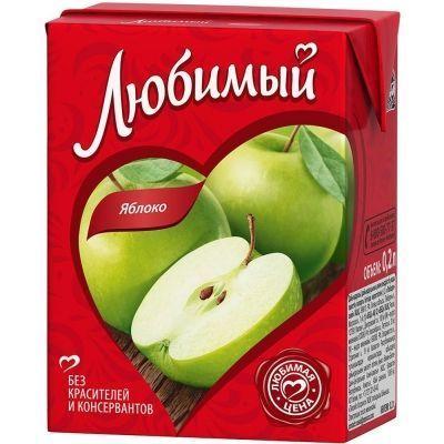Сок Любимый сад Яблоко
