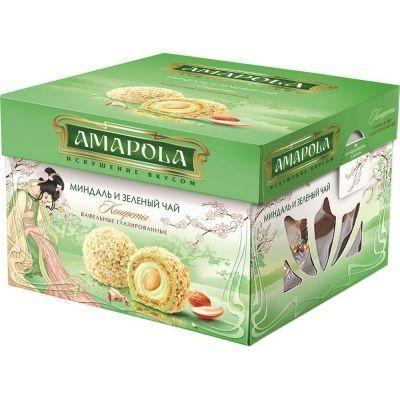 Конфеты 'Амапола' Миндаль и зеленый чай