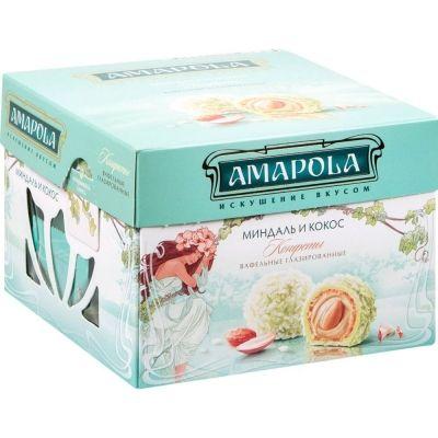 Конфеты 'Амапола' Миндаль и кокос