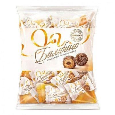 Конфеты 'Бамбино' шоколадно-апельсиновые
