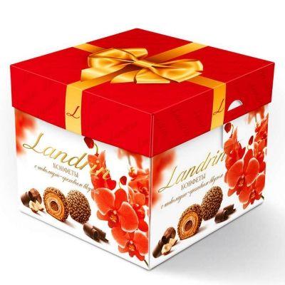 Конфеты Ландринъ с вафельным корпусом и начинкой с шоколадно-ореховым вкусом