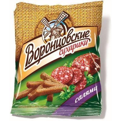 Сухарики Воронцовские со вкусом Салями оригинальная