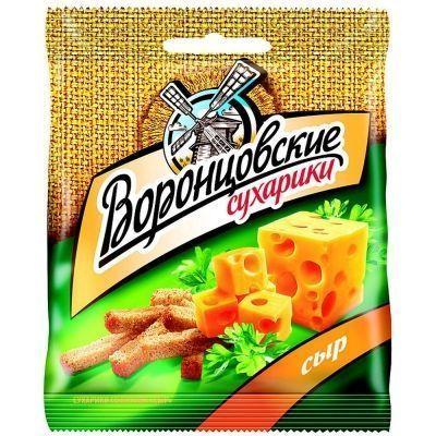 Сухарики Воронцовские со вкусом Сыра