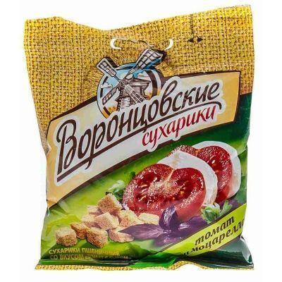 Сухарики Воронцовские со вкусом Томата и моцареллы