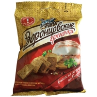 Сухарики-гренки Воронцовские со вкусом Балыка из осетрины