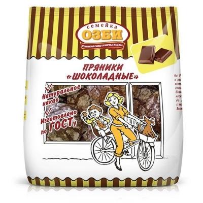 Пряники Семейка ОЗБИ Шоколадные заварные