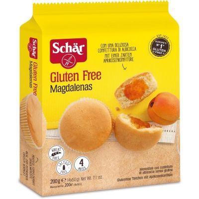 Кексы Schar 'Magdalenas' с абрикосовым джемом