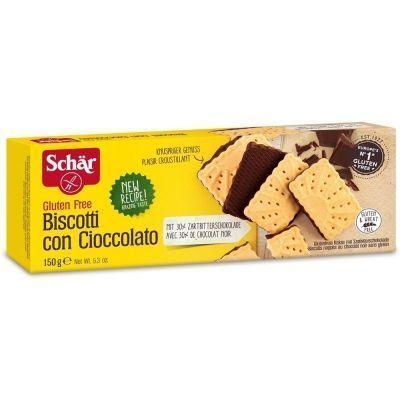 Печенье Schar с шоколадом 'Biscotti con cioccolato'