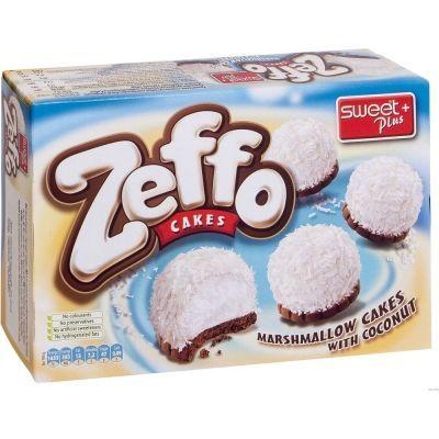 Пирожное маршмеллоу ZEFFO с кокосом