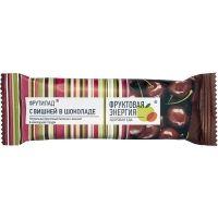 Батончик фруктовый Фрутилад Вишня в шоколаде