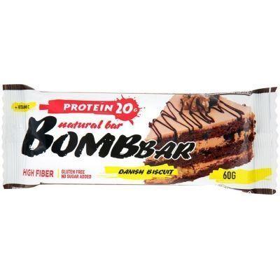 Батончик протеиновый 'Bombbar' Датский бисквит
