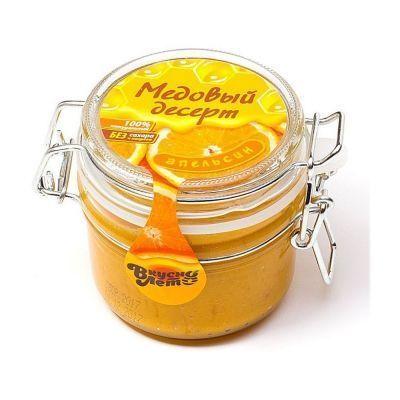 Крем-мед Вкуснолето 'Медовый Апельсин' банка бугельная