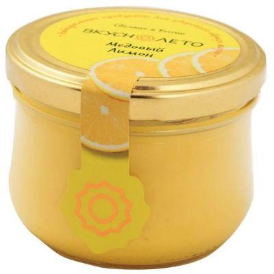 Крем-мед Вкуснолето 'Медовый Лимон' (твист-офф)