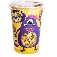 Попкорн в стакане Happy Corn с карамелью