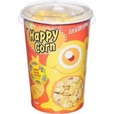 Попкорн в стакане Happy Corn с сыром