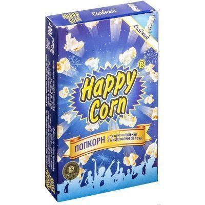 Попкорн для приготовления в микроволновой печи 'Happy Corn' Солёный