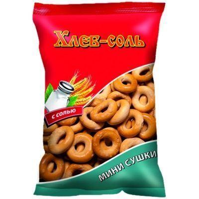 Сушка-мини 'Хлеб-Соль' с солью