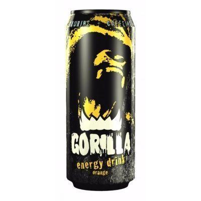 Напиток энергетический Gorilla Orange