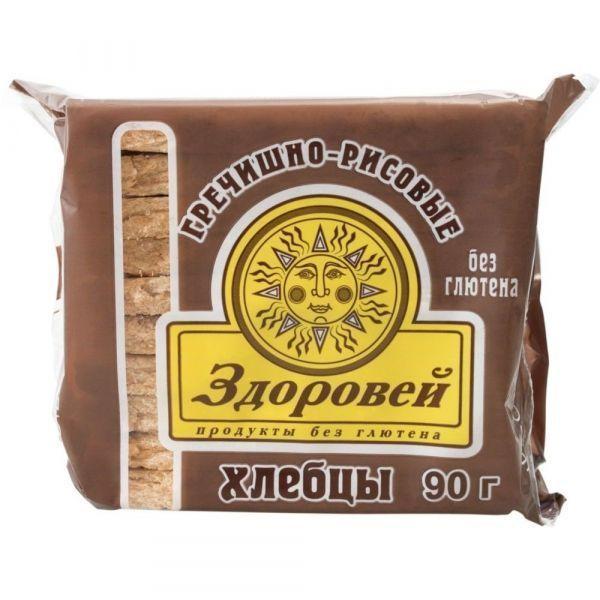Хлебцы Здоровей Гречнево-рисовые