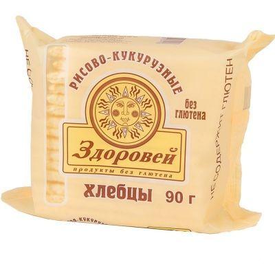 Хлебцы Здоровей Рисово-кукурузные