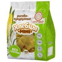 Хлебцы мини Здоровей Рисово-кукурузные