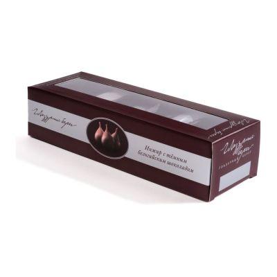 Конфеты Глазурный берег Инжир с темным бельгийским шоколадом