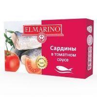 Сардины Elmarino в томатном соусе