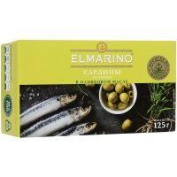 Сардины в оливковом масле Elmarino