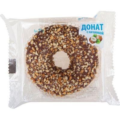 Донат Dooti Donuts с ореховой начинкой