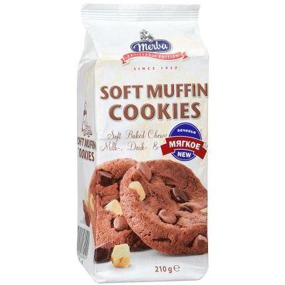 Печенье 'Мерба' Шоколадный маффин