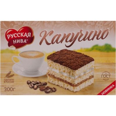 Торт Русская Нива Капучино