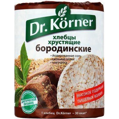 Хлебцы Dr.Korner Бородинские