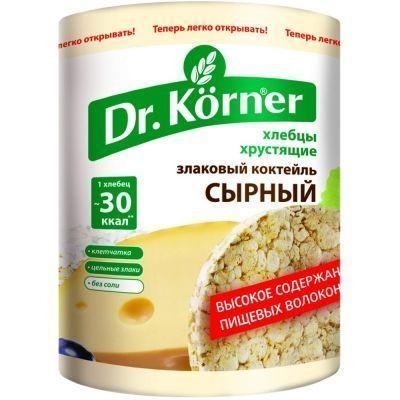 Хлебцы Dr.Korner Злаковый коктейль сырный