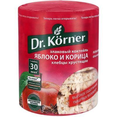 Хлебцы Dr.Korner Злаковый коктейль яблочный с корицей