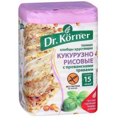 Хлебцы Dr.Korner Кукурузно-рисовые с прованскими травами