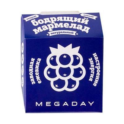 Жевательный мармелад Megaday Бодрящий мармелад настроение энергия со вкусом ежевики