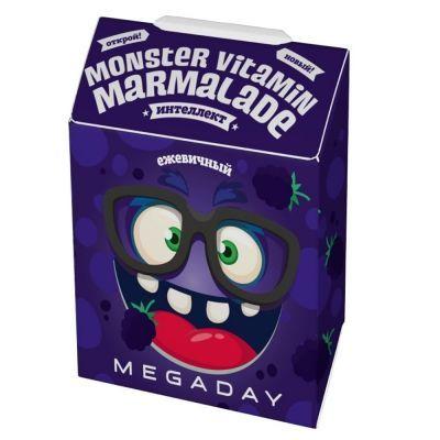 Мармелад Megaday Kids Интеллект со вкусом ежевики