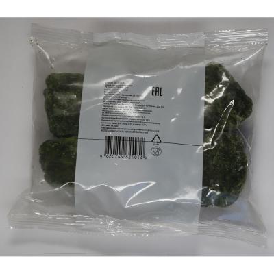 Шпинат листовой быстрозамороженный
