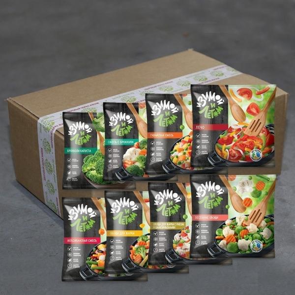 Овощи быстрозамороженные Овощное меню