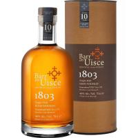 Виски ирландский односолодовый Барр ан Уиски 1803 Сингл Молт 10 лет в подарочной упаковке (Barr an Uisce 1803 Single Malt), 46 %