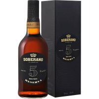 Бренди Соберано Резерва 5 лет в подарочной упаковке (Soberano Reserva 0.70 Gift box), 36 %