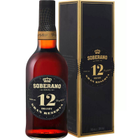 Бренди Соберано Гран Резерва 12 лет в подарочной упаковке (Soberano Gran Reserva), 36 %