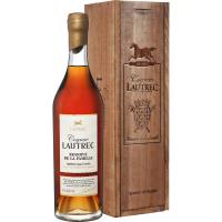 Коньяк Лотрек Резерв дэ ля Фамий (в деревянном ящике) (Cognac Lautrec Reserve de la famille in wooden box)