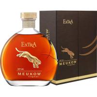 Коньяк Меуков Экстра в подарочной упаковке (Meukow Extra with gift box), 40 %