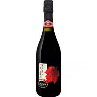 Вино игристое Чив & Чив Ле Фолье Ламбруско ди Модена жемчужное красное сухое (CIV&CIV Le Foglie LAMBRUSCO DI MODENA Vino Frizzante rosso secco DOC), 10,5 %