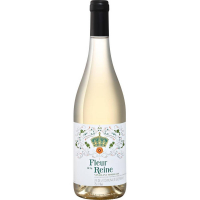 Вино Флер де ля Рэн белое полусладкое (Fleur de la Reine vin blanc moelleux), 9-15 %