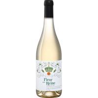 Вино Флер де ля Рэн белое сухое (Fleur de la Reine vin blanc sec), 9-15 %