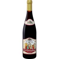 Вино Молодая Любимая Женщина столовое красное полусладкое (Lieb JungFrau Red wine medium-sweet), 9,5 %