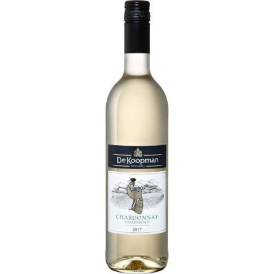 Вино Де Купман Шардоне 2017 белое сухое (De Koopman Chardonnay white dry), 10-15%